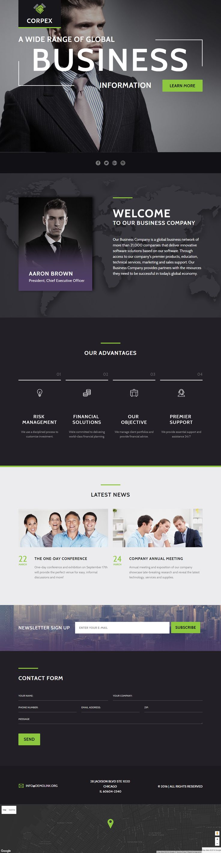 208 best Landing Page Templates images on Pinterest | Page template ...