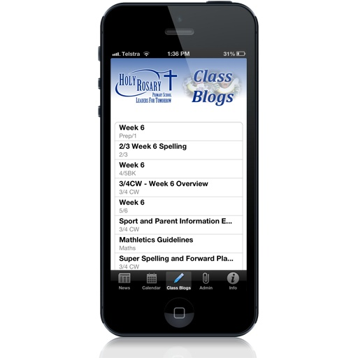 MySchoolsApp - personalised iPhone and Android apps  for your school