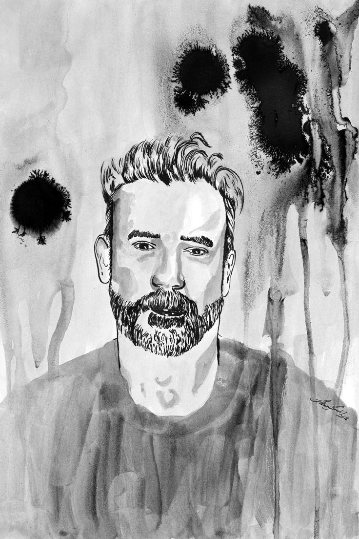 """Second illustration for """"Letter to someone in depression"""" by Leonardo Collares at Medium.com: https://medium.com/@leonardocollares/letter-to-someone-in-depression-44e08a18c09e#.10u2e7mjv portuguese: https://medium.com/@leonardocollares/carta-a-alguém-em-depressão-3abdc883899f#.y1ppre9pq"""