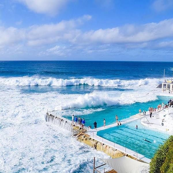 Tuesday's forecast: 28 degrees, a new PM and a cheeky schooner. Who wants to work around these parts? http://www.tastyjobs.com.au/company/Icebergs+Dining+Room+and+Bar/ Image via Instagram @sydney via @awesomeeves