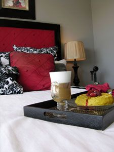 """How to do Breakfast in Bed! a Simple """"gift to show someone how much you care :) #preparedpantry"""