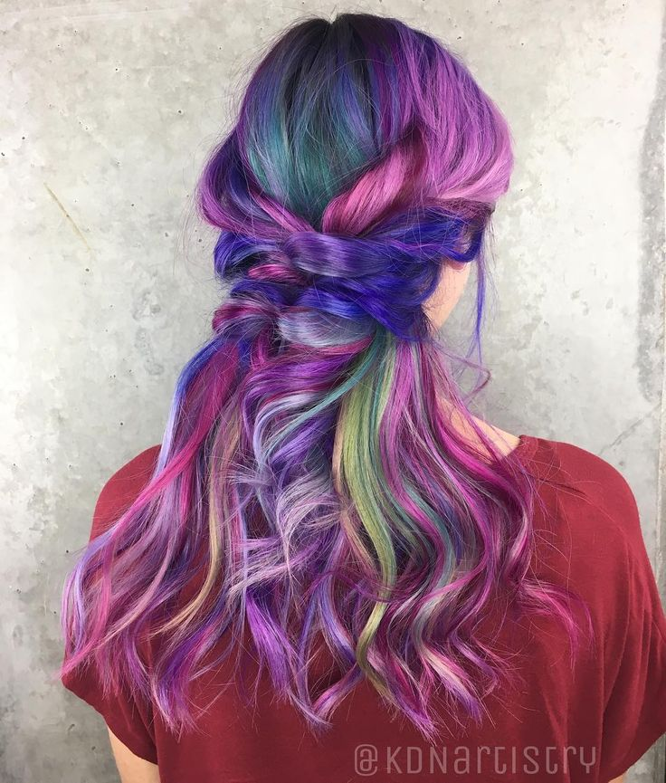 "123 Likes, 2 Comments - Kylie Nelson ✖️PHX•AZ STYLIST (@kdnartistry) on Instagram: ""Created this unicorn madness using all @joicointensity. Shout out to @averylyng for letting me have…"""