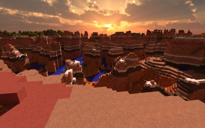 Mesa Desert Minecraft Biome Minecraft Minecraft Designs