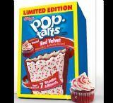 LIMITED EDITION Red Velvet Flavour Pop Tarts