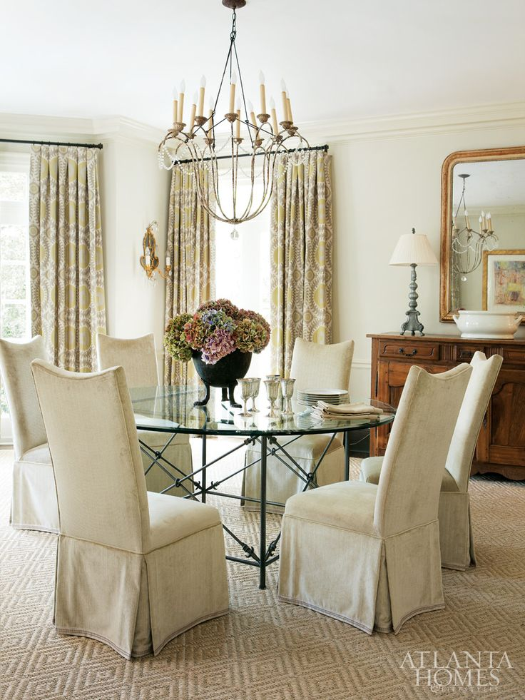 Our Italian Chandelier Hangs In This Atlanta Dining Room Designed By Beth Ervin