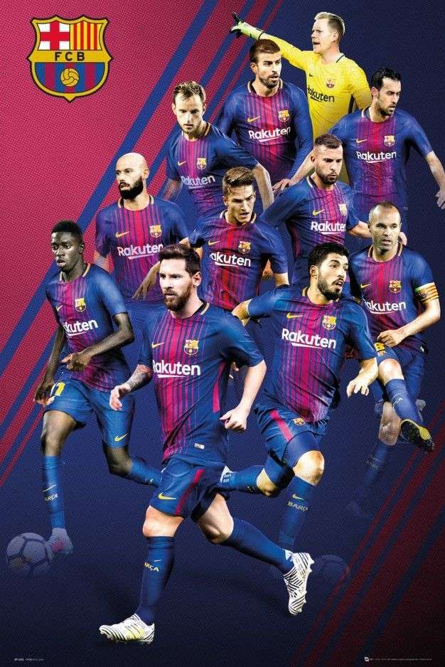 Barcelona Wallpaper Barcelona Barcelona Players Fc Barcelona