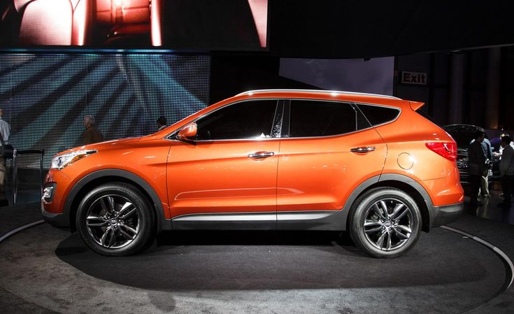 2013 hyundai santa fe sport photo i love orange cars a. Black Bedroom Furniture Sets. Home Design Ideas
