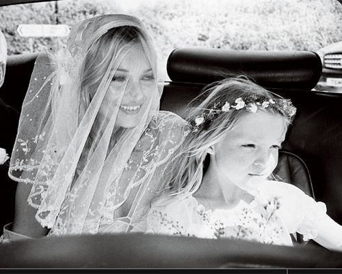 Kate #Moss #wedding