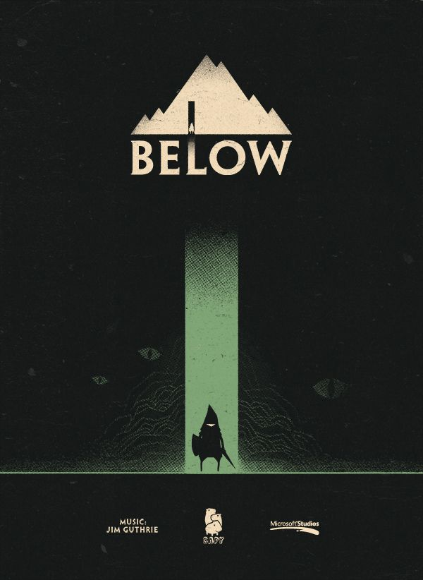 """poster for """"BELOW"""" by CAPY"""