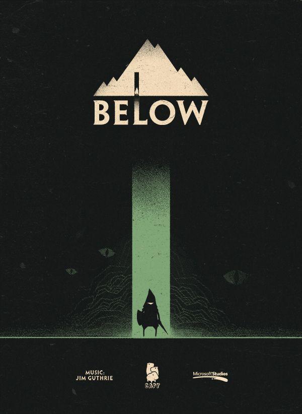Below game poster.