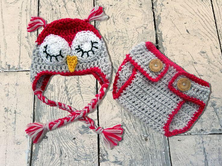 Baby Owl Outfit Newborn Owl Hat Crochet Owl Hat Owl