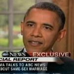 President Obama backs same-sex marriage.  I think he just won the election..Samesex Marriage
