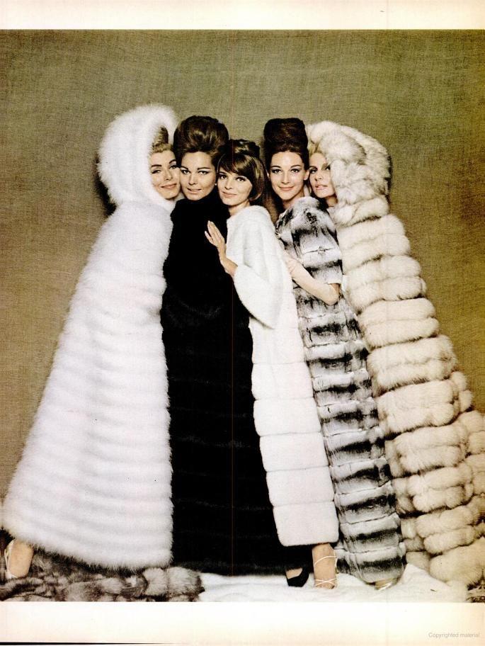 Fur Coat ad (1962)