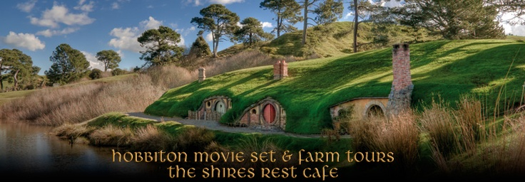 The shire-have to do a painting for my son of this. :): The Hobbit, Movie Sets, Hobbit Home, Hobbit Houses, Newzealand, North Islands, Middle Earth, New Zealand, Thehobbit