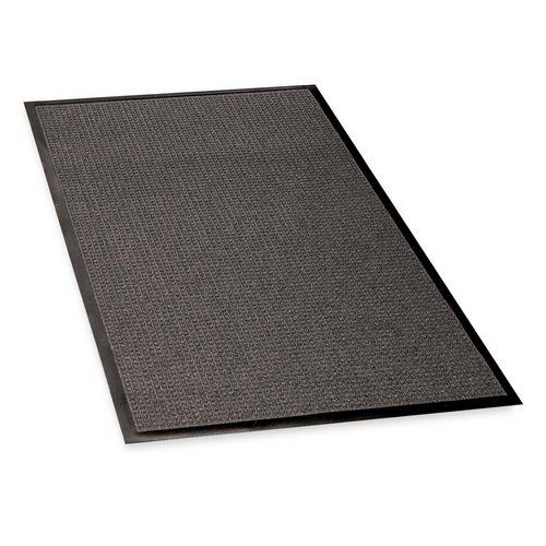 Genuine Joe Indoor/Outdoor Mat, Rubber Cleated Backing, 4'X6', Charcoal by Genuine Joe. $271.46. Genuine Joe Indoor/Outdoor Mat, Rubber Cleated Backing, 4'x6', CharcoalWaterguard mat is designed for indoor and outdoor use. Bi-level construction keeps dirt and moisture trapped beneath the shoe level. Raised border keeps water and dirt in the mat and off the floor. Premium 24 oz. polypropylene carpet dries quickly and will not rot. Mat offers 100 percent rubber backing for maxim...