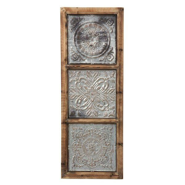 Elevate Your Home Decor With This Richly Designed Punched Metal Vertical Wall Decor The Unique Blend Of Solid W In 2021 Metal Wall Art Vertical Wall Art Long Wall Art