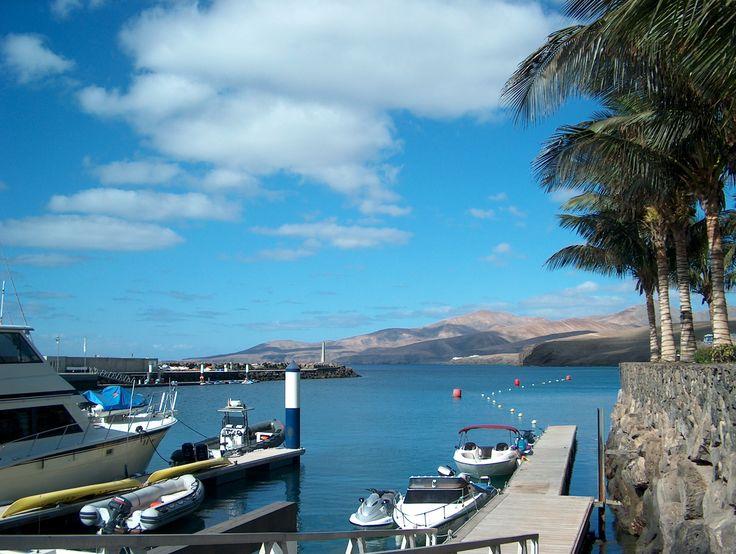 Puerto Calero. Lanzarore.Canary Islands.