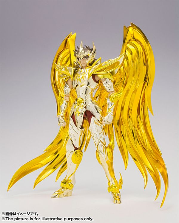 Mechanical Japan: Saint Seiya: Soul of Gold - Aioros Caballero de Oro de Sagitario Armadura Divina Myth Cloth EX (Bandai)