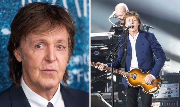 PAUL ON THE RUN: Paul McCartney is still striving to feel relevant