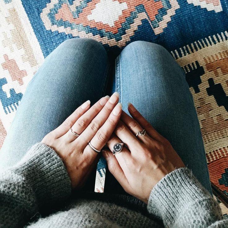 Styling by quyen showing  Wink Emoji Ring Silver, Eternal Zirconia Ring Silver, Gear Ring Small Grey Rhodium and Basic wonder Ring Silver Medium #jewellery #Jewelry #bangles #amulet #dogtag #medallion #choker #charms #Pendant #Earring #EarringBackPeace #EarJacket #EarSticks #Necklace #Earcuff #Bracelet #Minimal #minimalistic #ContemporaryJewellery #zirkonia #Gemstone #JewelleryStone #JewelleryDesign #CreativeJewellery #OxidizedJewellery #gold #silver #rosegold #hoops #armcuff #jewls…