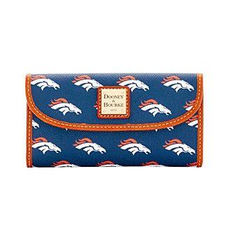 Dooney & Bourke® NFL® Broncos Continental Clutch