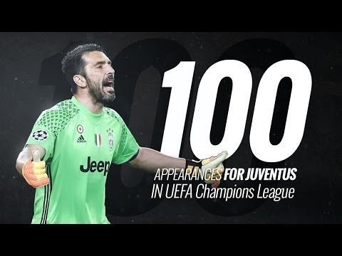Buffon: Champions League centurion - YouTube