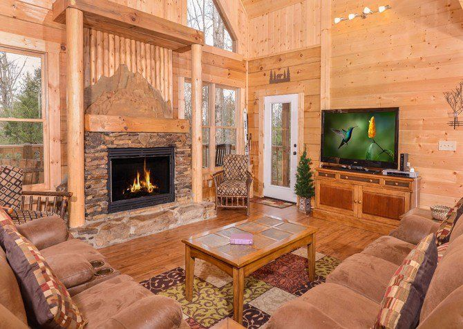 Pigeon Forge cabin - Copper River - Indoor Pool