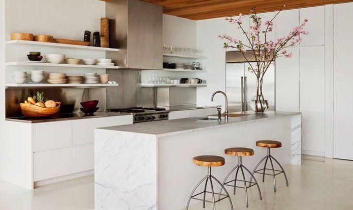 Om van te dromen: 20 x de mooiste keukens met marmer – NSMBL