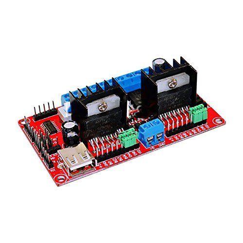 Uniquegoods L298n V3 Dc Dc 5 30v Dual H Bridge Stepper