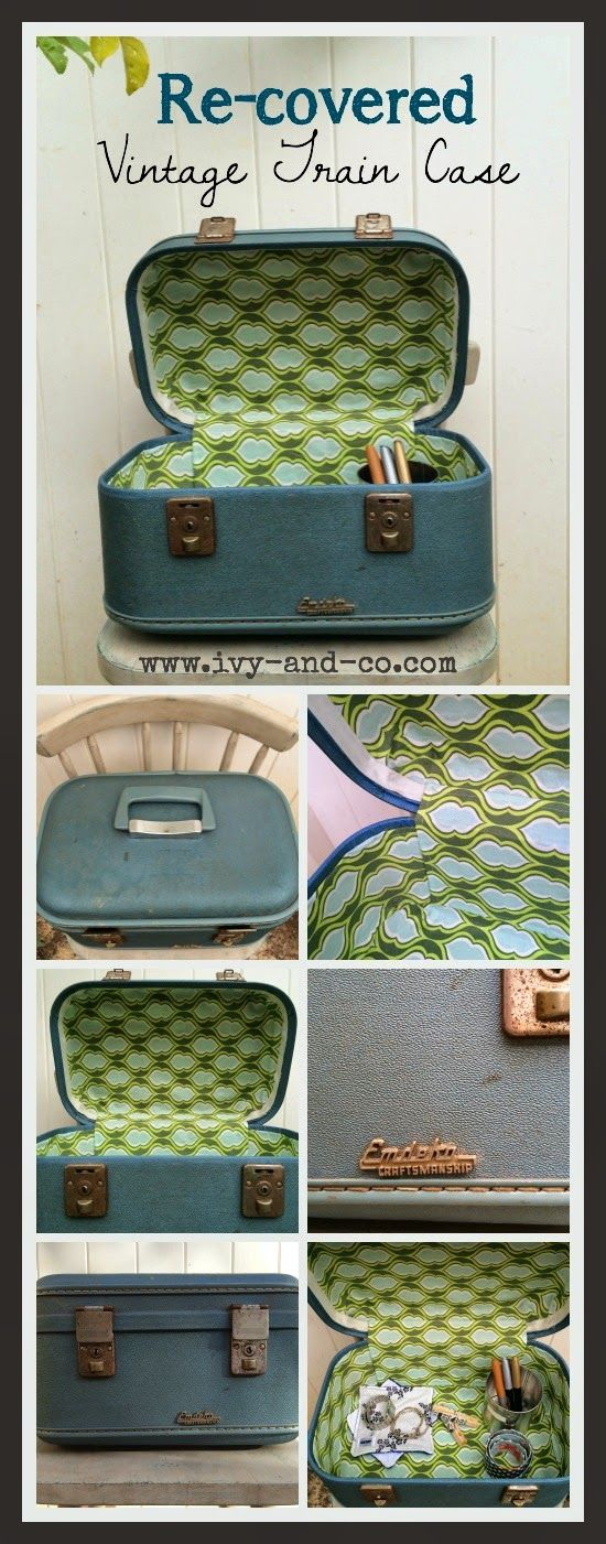 The 25  best Vintage train case ideas on Pinterest | Vintage ...