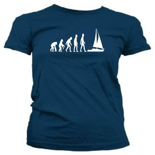 Loopyparrot Evolution of man sailing ladies T-shirt 389w - Navy - X-Large T-shirts are fruit of the loom and design is created with vinyl to ensure a quality product that lasts. (Barcode EAN = 5055824823736). http://www.comparestoreprices.co.uk/december-2016-4/loopyparrot-evolution-of-man-sailing-ladies-t-shirt-389w--navy--x-large.asp