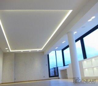 Les 25 meilleures id es concernant plafond lumineux sur for Model faux plafond salon
