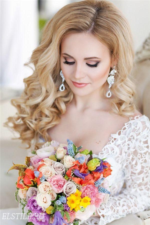 Stilideen: 20 moderne Brautfrisuren für langes Haar