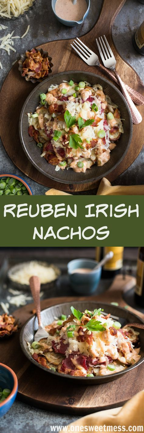Reuben Irish Nachos