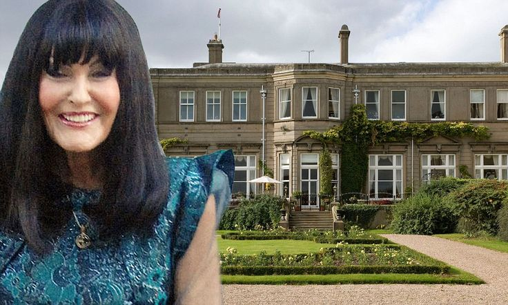 I'm out: Dragon's Den's Hilary Devey puts £2.2m Staffordshire home on the market