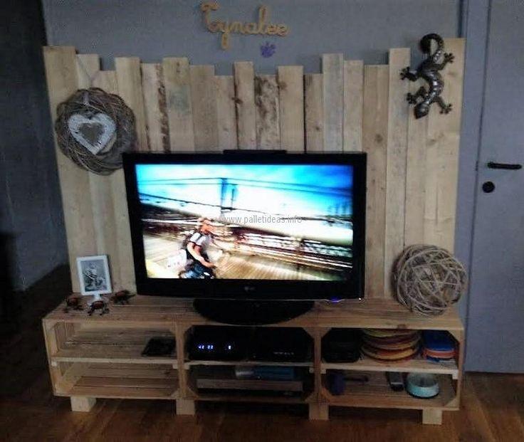 Pallet Tv Stand 123 best pallet tv stands images on pinterest | pallet tv stands