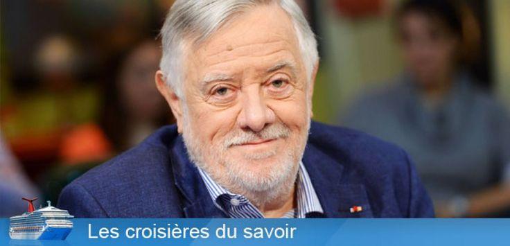 """Le paléoanthropologue Yves Coppens est le parrain des """"Croisières du savoir"""" de Sciences et Avenir. ©Batel/ SIPA"""
