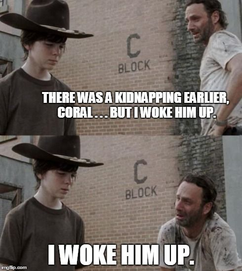 I love Rick's dad jokes