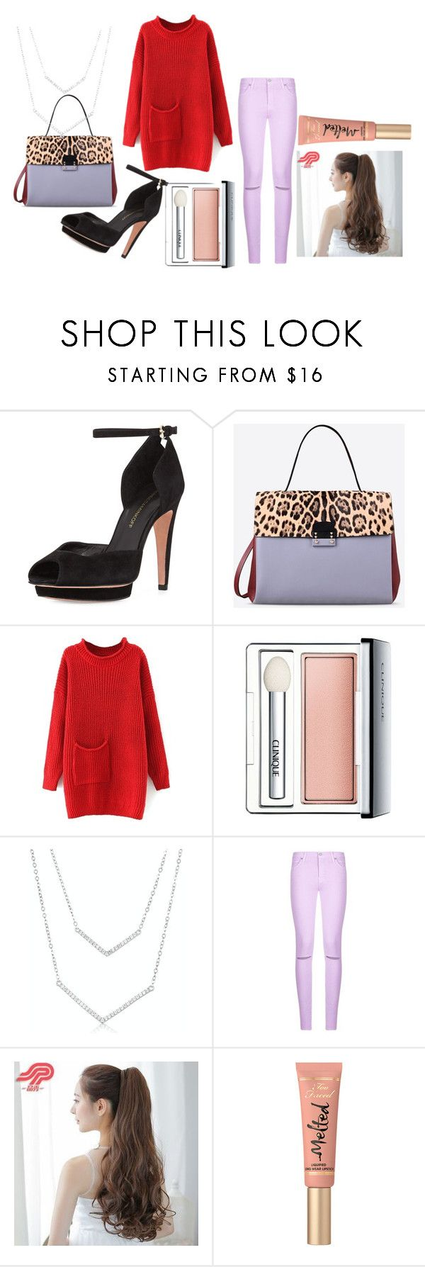 """Winter set 02: Duke game tonight! Wish I was there :)"" by anikivance ❤ liked on Polyvore featuring Rebecca Minkoff, Valentino, Clinique, 7 For All Mankind, Pin Show and Too Faced Cosmetics"