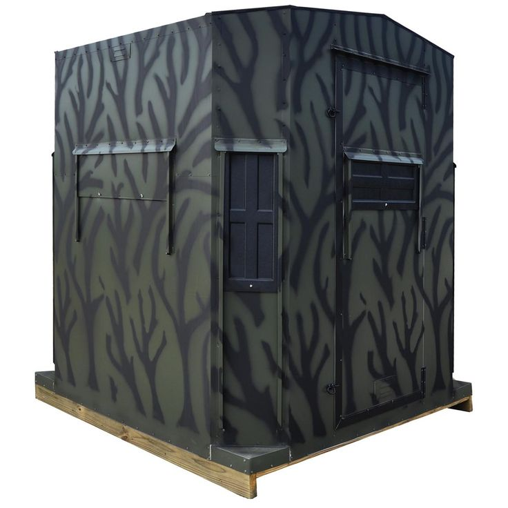 Shadow Hunter Series 6  foot x 6  foot  Octagon Combo Blind