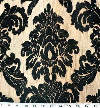Regal Black | Online Discount Drapery Fabrics and Upholstery Fabric Superstore!
