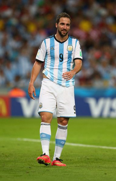 Gonzalo Higuain of Argentina looks on during the 2014 FIFA World Cup Brazil Group F match between Argentina and Bosnia-Herzegovina at Maracana on June 15, 2014 in Rio de Janeiro, Brazil.