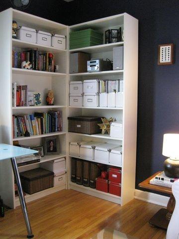 sunroom office ideas. bookshelves in a corner sunroom officeapt ideasoffice office ideas