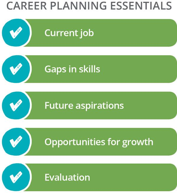 Career Planning Essentials: Current Job, Gaps in Skills, Future Aspirations, Opportunities for Growth, Evaluation