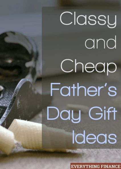 Not sure what to get dad? Check out this list of cheap Father's day gifts that will still leave your dad smiling.