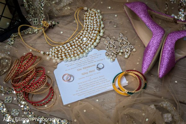 Dreamy  indian bridal jewelry and shoes. http://www.maharaniweddings.com/gallery/photo/97331