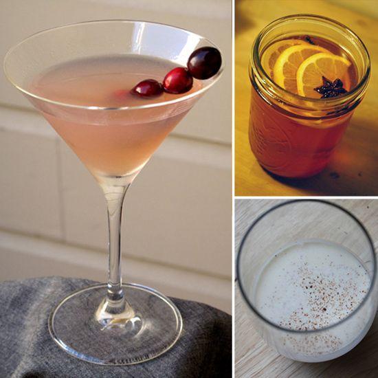Mulled Wine, 2. Pear Ginger Rum Runner, 3. Hot Apple-Cider Rum, 4 ...