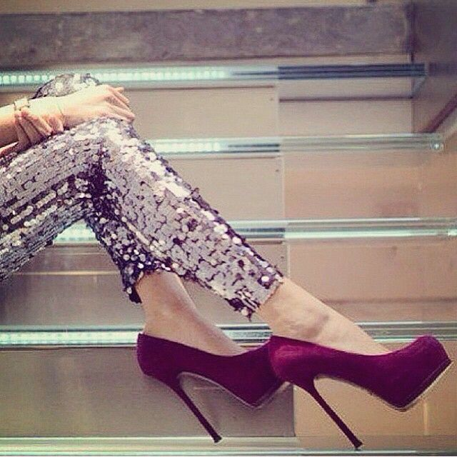 Im in love with those heels !