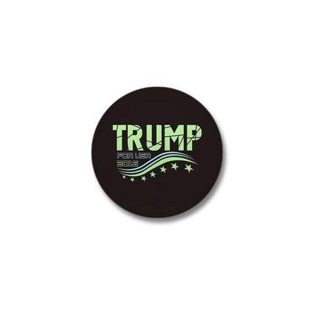 Donald Trump For USA 2016 Mini Button on CafePress.com