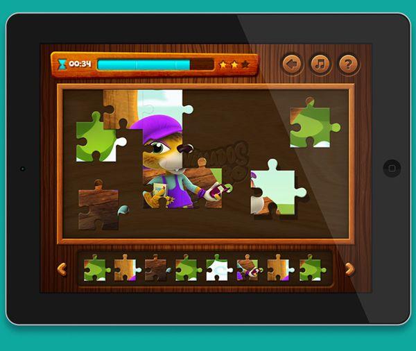 Design de Interface/UI para jogo mobile da linha infantil de biscoitos Richester - AnimadoZoo. O jogo foi lançado para tablets (iPads/Android) e também no site AnimadosZoo.Link para a versão web do jogo: http://www.animadoszoo.com.br